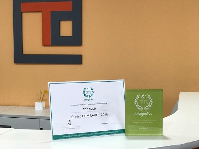 Certificado Cum Laude Emagister 2016