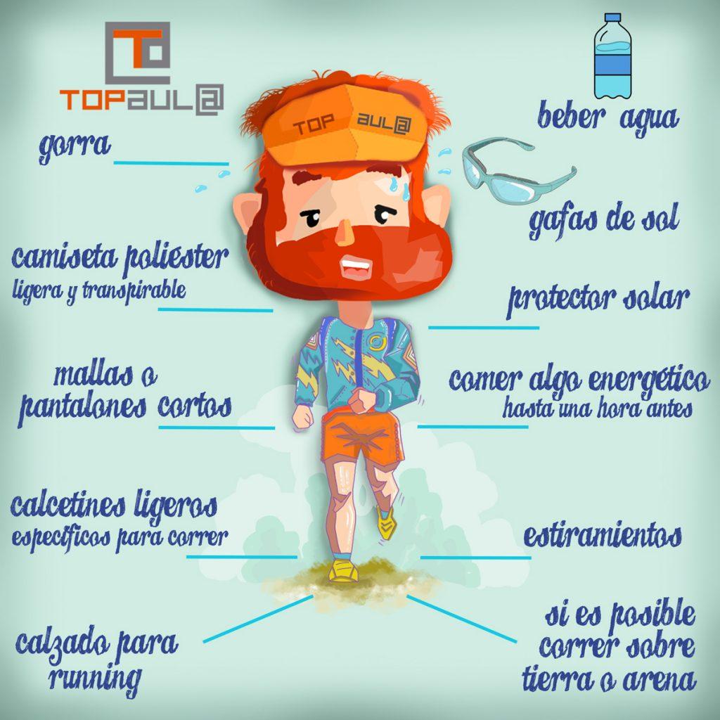 Infografia ¿Qué debemos saber antes de empezar a practicar running? - www.topaulasalud.com