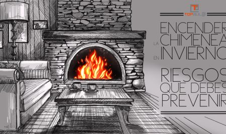 Encender la chimenea en invierno: Riesgos que debes prevenir