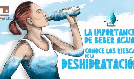 La importancia de beber agua: Conoce los riesgos de la deshidratación