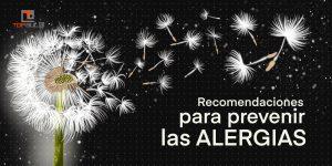 Recomendaciones para prevenir las alergias - www.topaula.com